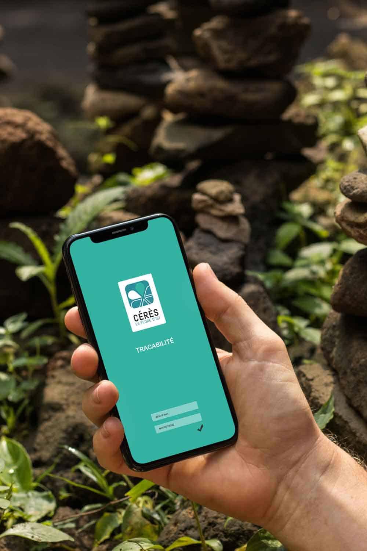 Cérès Flore, application mobile de traçabilité des végétaux